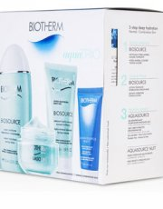 Biotherm Aqua Set: Aquasource Gel 50ml + Toning Lotion 125ml + Hydrating Jelly 20ml + Biosource Cleansing Gel 50ml